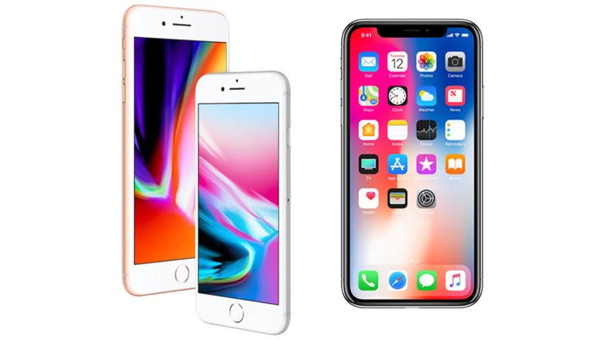 iPhone 8 8 Plus iPhone X 850x480 La production des iPhone 8 et iPhone X serait réduite pour le premier trimestre de 2018
