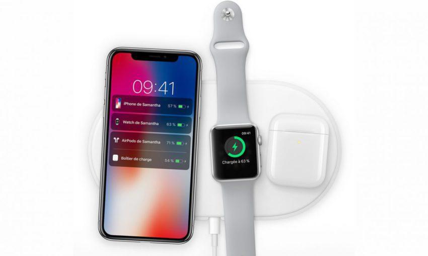 AirPower Chargeur Sans Fil Apple 850x508 LAirPower et le boitier de recharge sans fil des AirPods seraient disponibles en mars