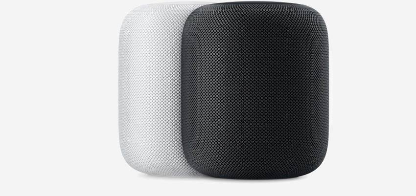 HomePod Blanc et Gris Sideral 850x401 Apple liste officiellement les sources audio qui seront supportées par le HomePod