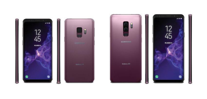 Samsung Galaxy S9 Et S9 Plus 850x409 Samsung, avec son Galaxy S9, ridiculise l'encoche de l'iPhone X et l'absence du capteur d'empreintes