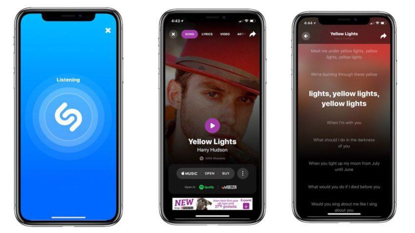 Shazam Mise a Jour 850x478 Shazam se met à jour pour proposer une interface plus épurée et de nouvelles fonctionnalités