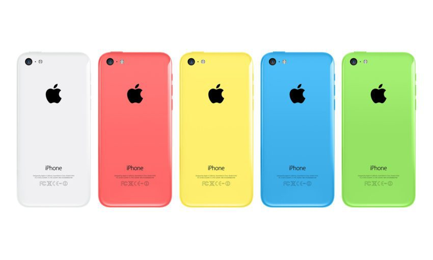 iPhone 5c 5 Couleurs 850x510 Vous pouvez remplacer un iPhone 5c 16Go par un iPhone 5c 32Go, mais…