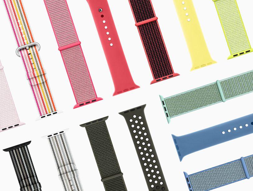 Apple Watch Bracelets Collection 2018 De nouveaux bracelets pour l'Apple Watch seront disponibles au printemps ?