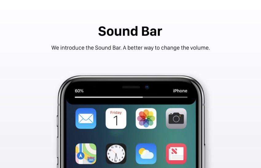 Barre de Sonnerie iOS 12 Concept 850x547 Un concept iOS 12 qui étale plusieurs nouveautés et fonctionnalités épatantes