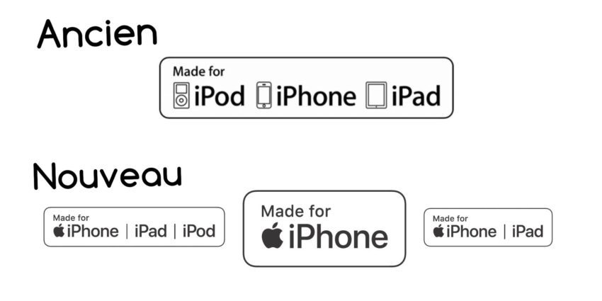 Made For iPhone 850x425 Apple met à jour les logos des accessoires Made for iPhone (MFi)