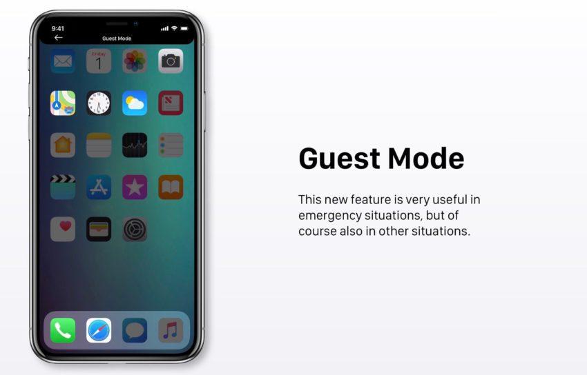 Mode Invite iOS 12 850x544 Un concept iOS 12 qui étale plusieurs nouveautés et fonctionnalités épatantes