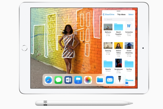 Nouveau iPad 9 7 Pouces Apple Pencil Keynote mars 2018 : le nouvel iPad low cost de 9,7 pouces compatible Apple Pencil est disponible