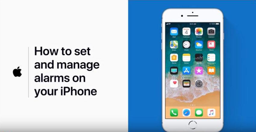 Regler Alarme iOS 850x437 Comment ajouter, organiser et modifier des alarmes sur iPhone ? Apple propose un guide