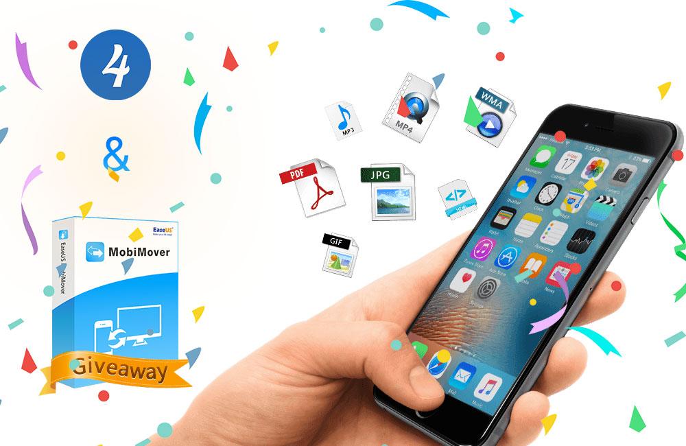 app4phone MobiMover giveaway box Bon plan : une licence de EaseUS MobiMover 3.0 gratuite