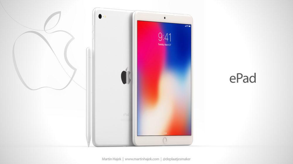 ePad 1 1000x563 ePad : un concept d'iPad signé Martin Hajek consacré à l'éducation
