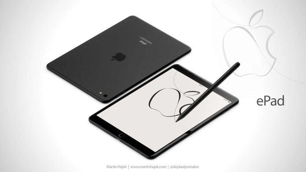 ePad 10 1000x563 ePad : un concept d'iPad signé Martin Hajek consacré à l'éducation