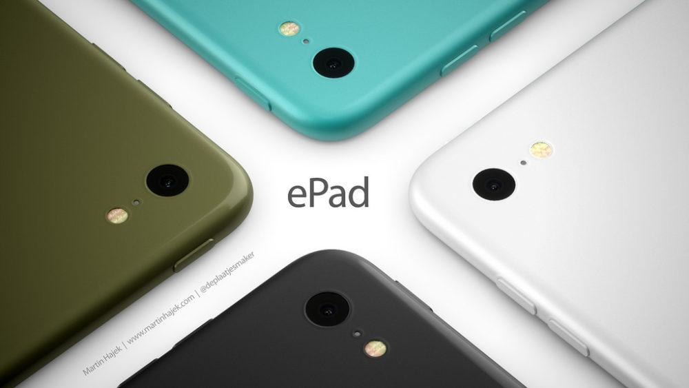 ePad 2 1000x563 ePad : un concept d'iPad signé Martin Hajek consacré à l'éducation