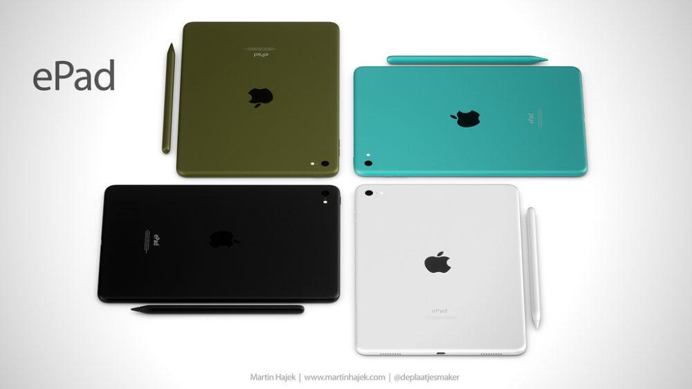 ePad 3 1000x563 ePad : un concept d'iPad signé Martin Hajek consacré à l'éducation