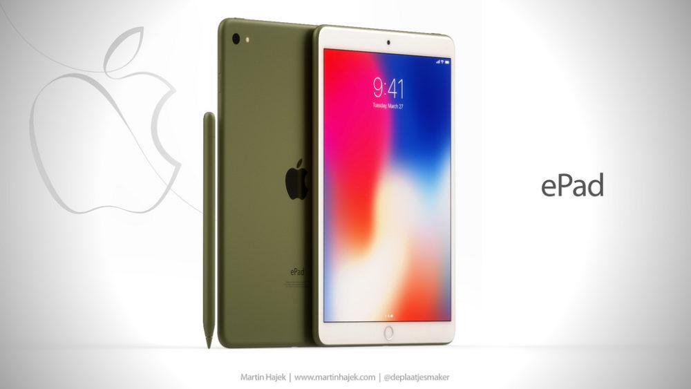 ePad 7 1000x563 ePad : un concept d'iPad signé Martin Hajek consacré à l'éducation