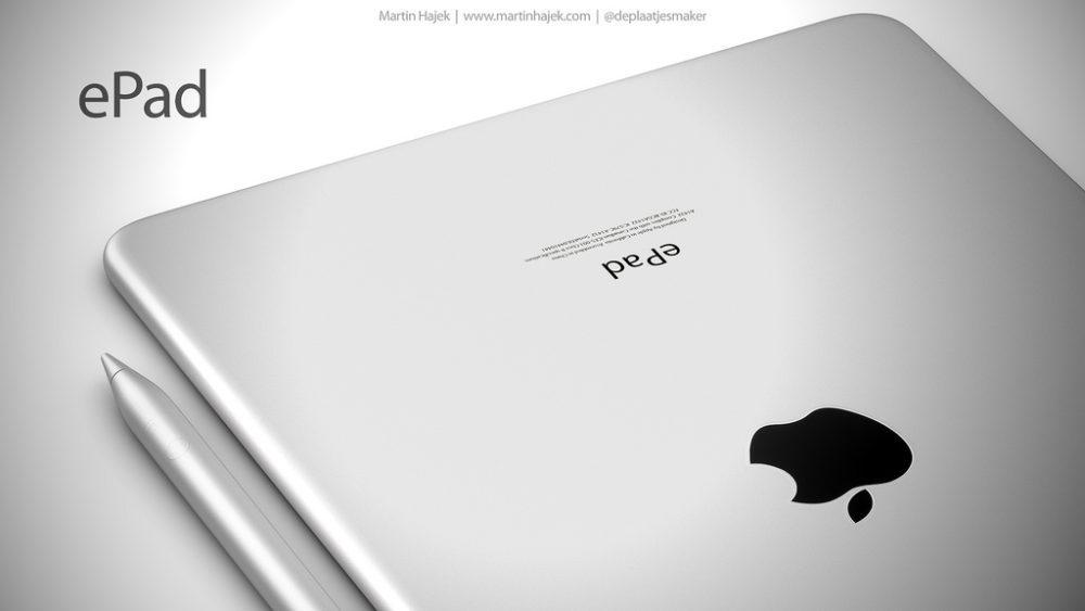 ePad 8 1000x563 ePad : un concept d'iPad signé Martin Hajek consacré à l'éducation