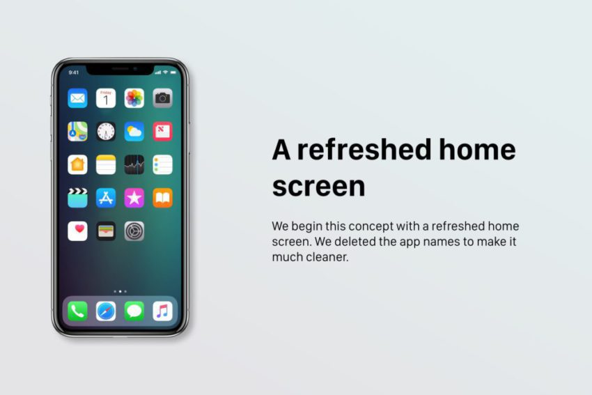 Un concept iOS 12 qui étale plusieurs nouveautés et fonctionnalités épatantes