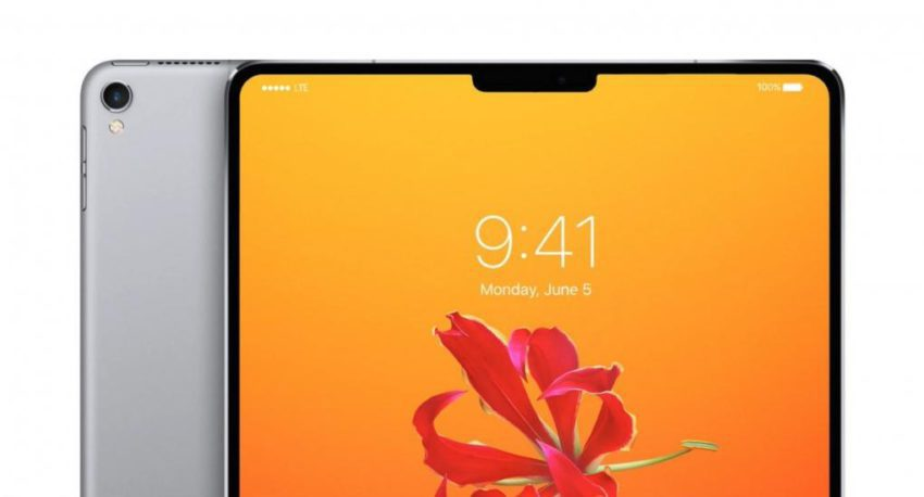 iPad Pro Encoche 850x458 Apple lance la production de liPad Pro avec Face ID, une sortie en juin prochain ?