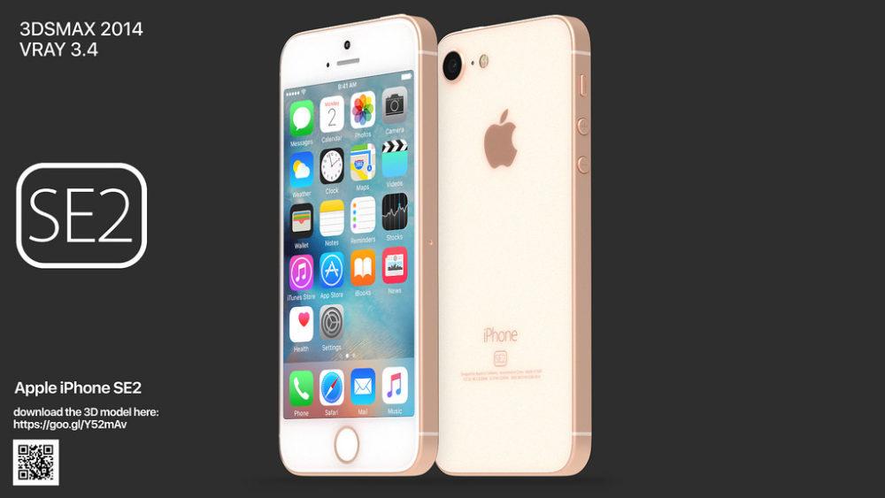 iPhone SE 2 Concept 1000x563 Un concept iPhone SE 2 plutôt réaliste ressemblant à liPhone 8
