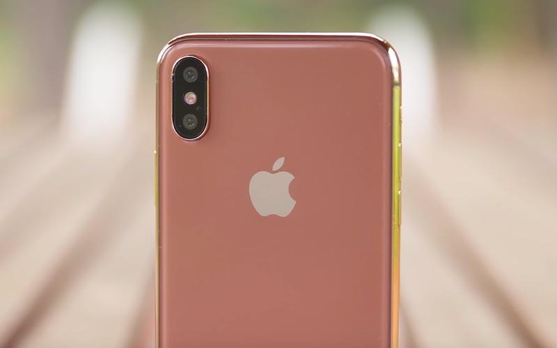 iPhone X Version Blush Gold LiPhone X version Or serait en début de production ?