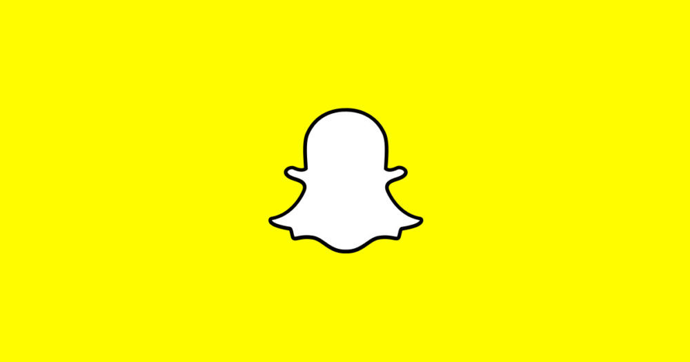 Snapchat Logo 1000x525 Snapchat supporte désormais les appels vidéos de groupe et la mention dans une Story