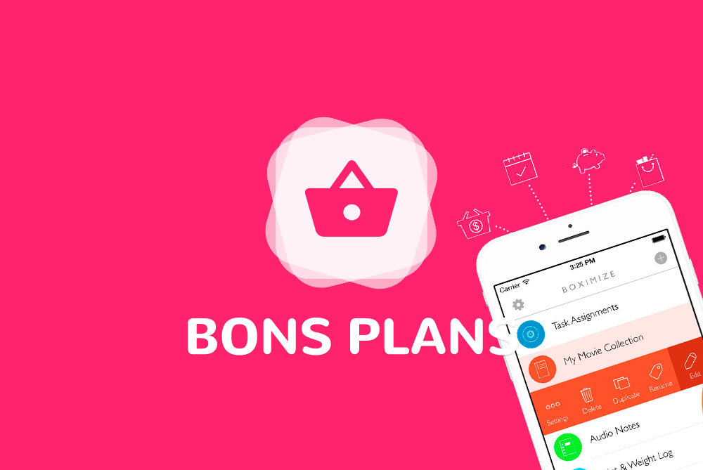 Applis pour iphone et ipad les bons plans du 13 04 2018 for Application miroir pour iphone