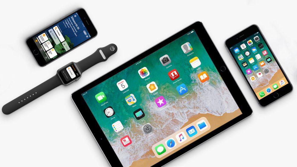 iOS 11 iPhone iPad Apple Watch 1000x562 Voici quelques changements et nouveautés d'iOS 11.4 bêta 2