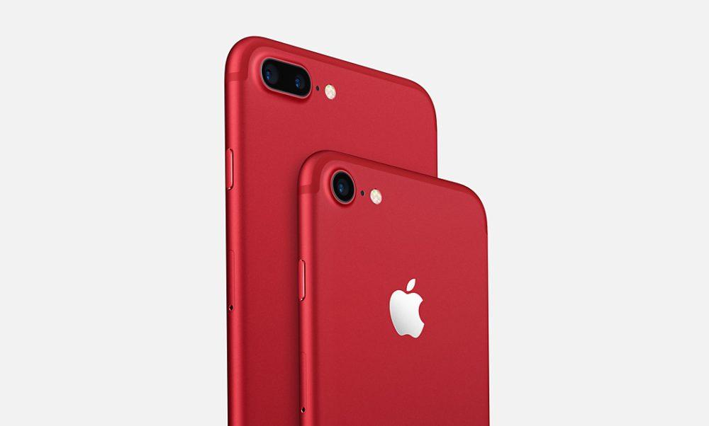iPhone 7 Plus iPhone 7 Rouge 1000x602 iPhone 8 et iPhone 8 Plus : un coloris rouge présenté demain selon Virgin Mobile
