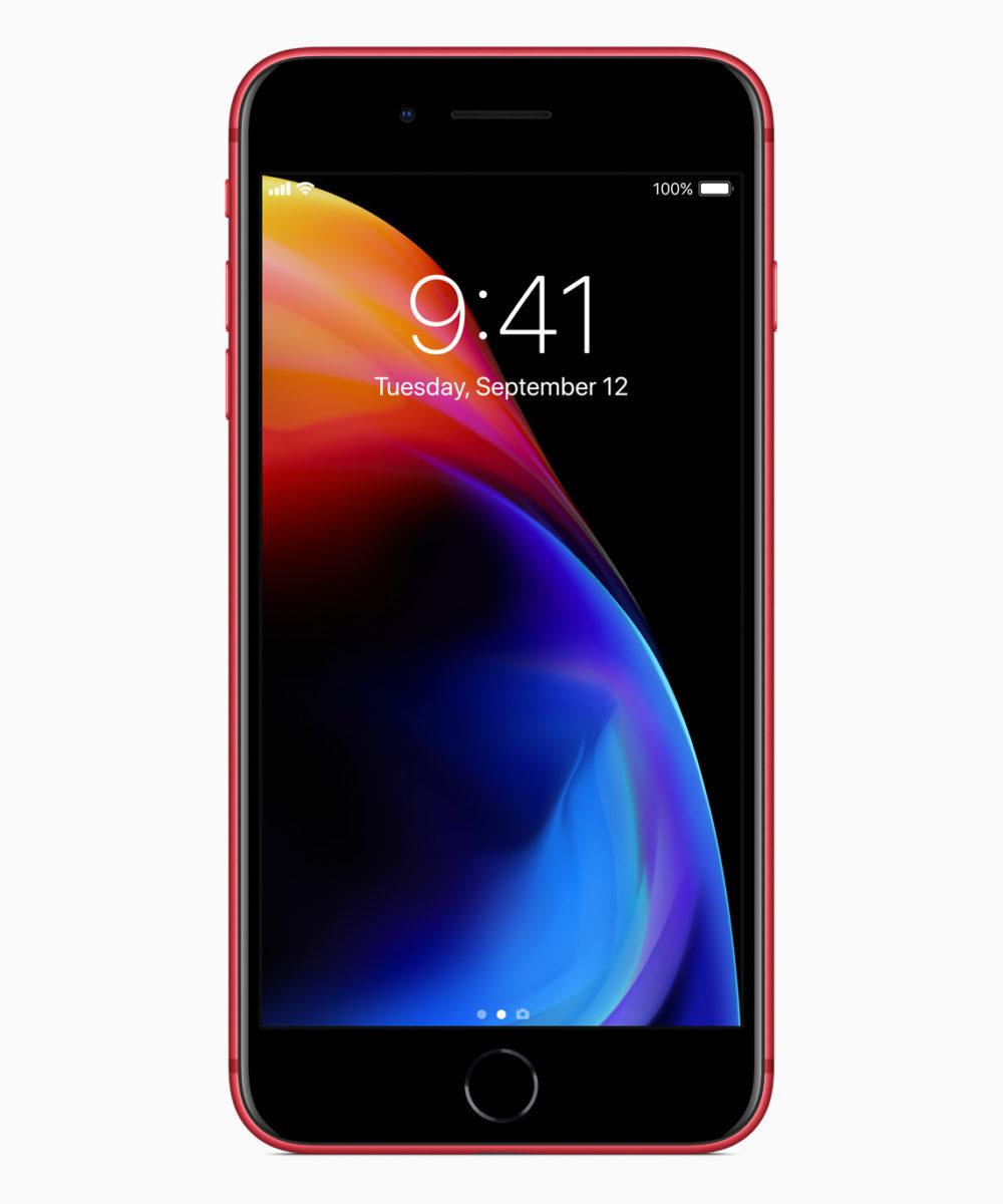iPhone 8 Plus Product RED Avant 1000x1200 Les iPhone 8/8 Plus rouges sont disponibles : les précommandes seront lancées demain