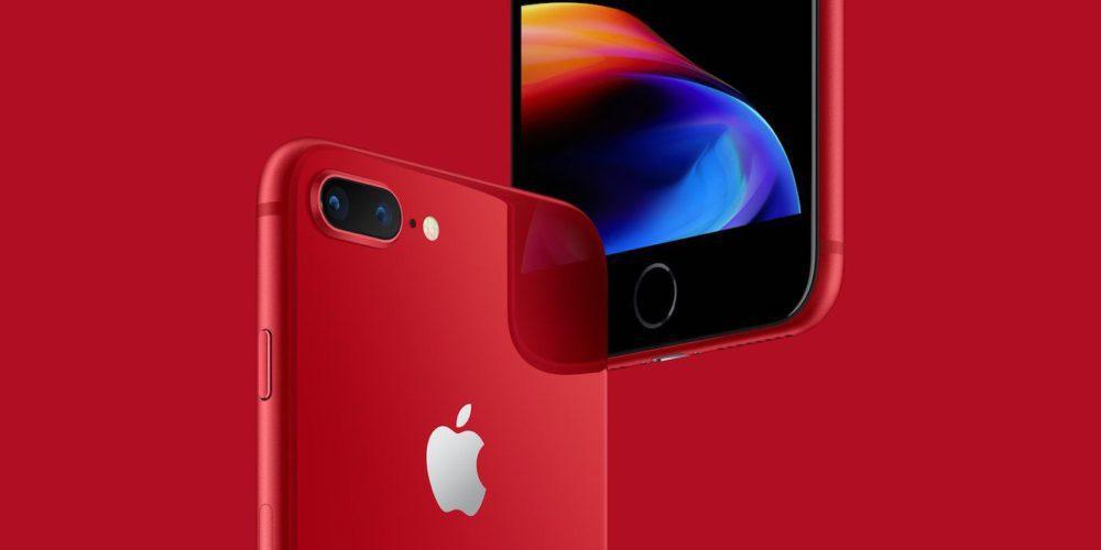 iPhone 8 iPhone Plus PRODUCT RED 1000x500 Les iPhone 8/8 Plus rouges sont disponibles : les précommandes seront lancées demain
