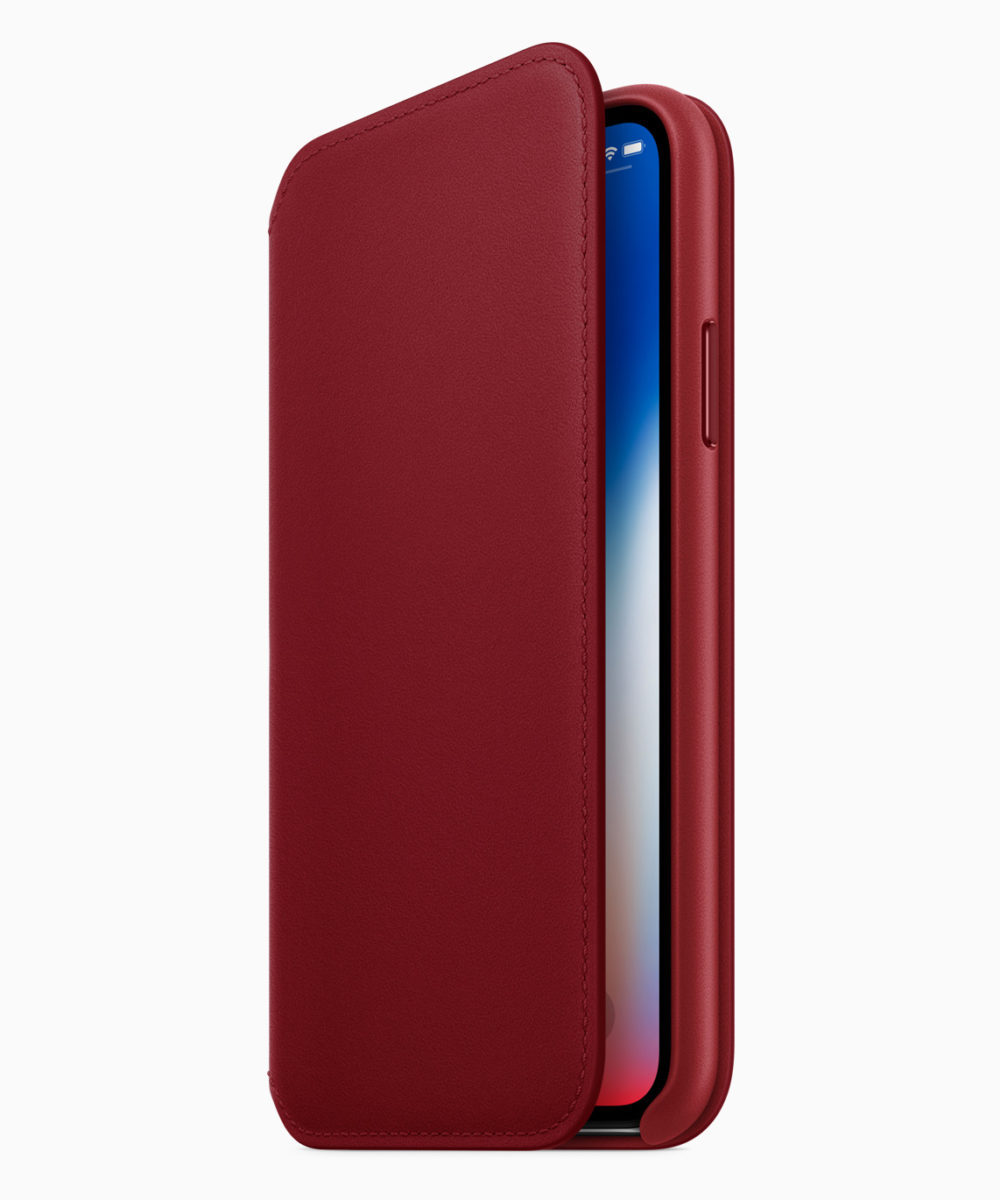 iPhone X RED Case 1000x1200 Les iPhone 8 et iPhone 8 Plus rouges sont disponibles à l'achat