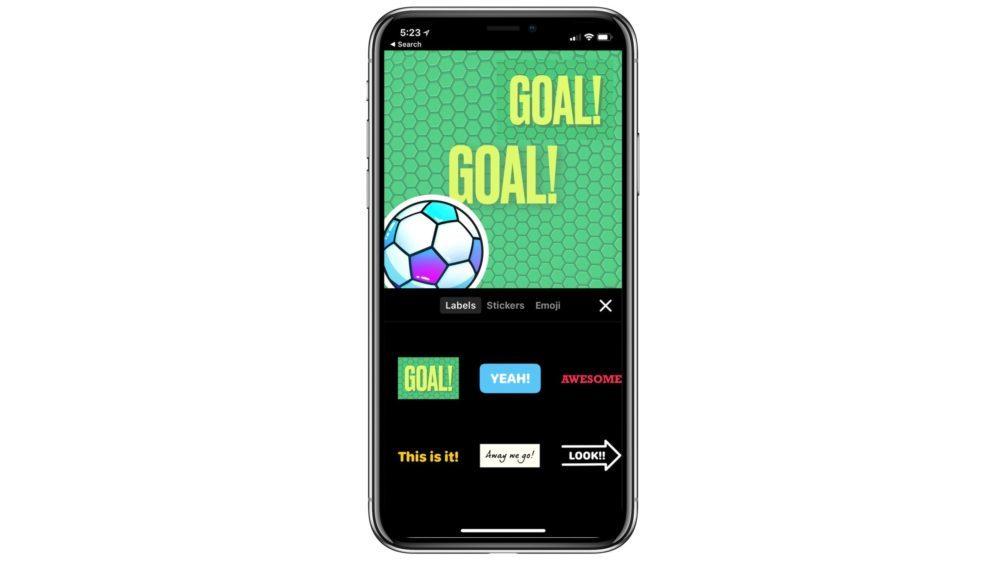 App Clips Football 1000x562 L'app Clips d'Apple se met à jour pour proposer des contenus relatifs au football