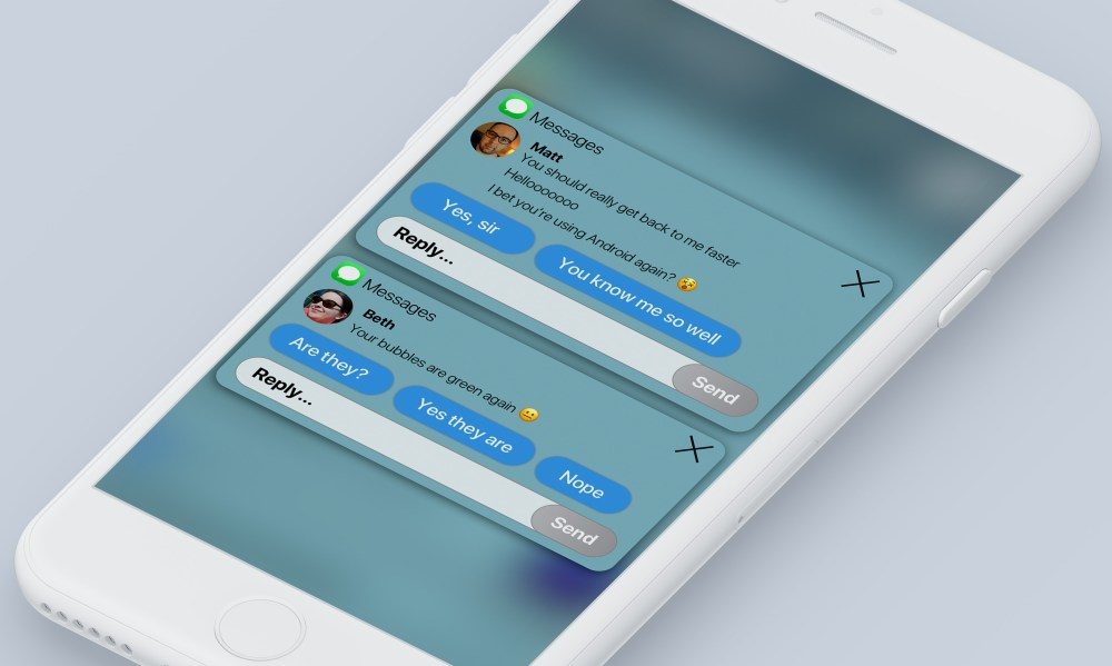 Concept iOS 12 Centre Notifications 4 1000x599 Un concept iOS 12 imagine un nouveau Centre de notifications