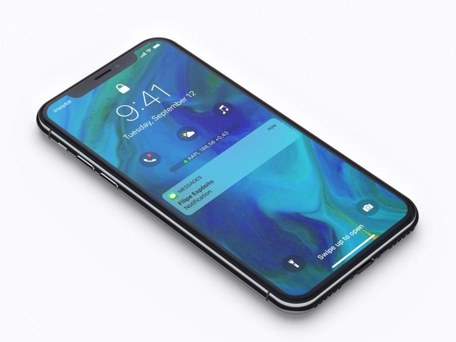 Concept iOS 12 iPhone X 2 Un concept iOS 12 met en avant un nouveau écran de verrouillage et plus encore