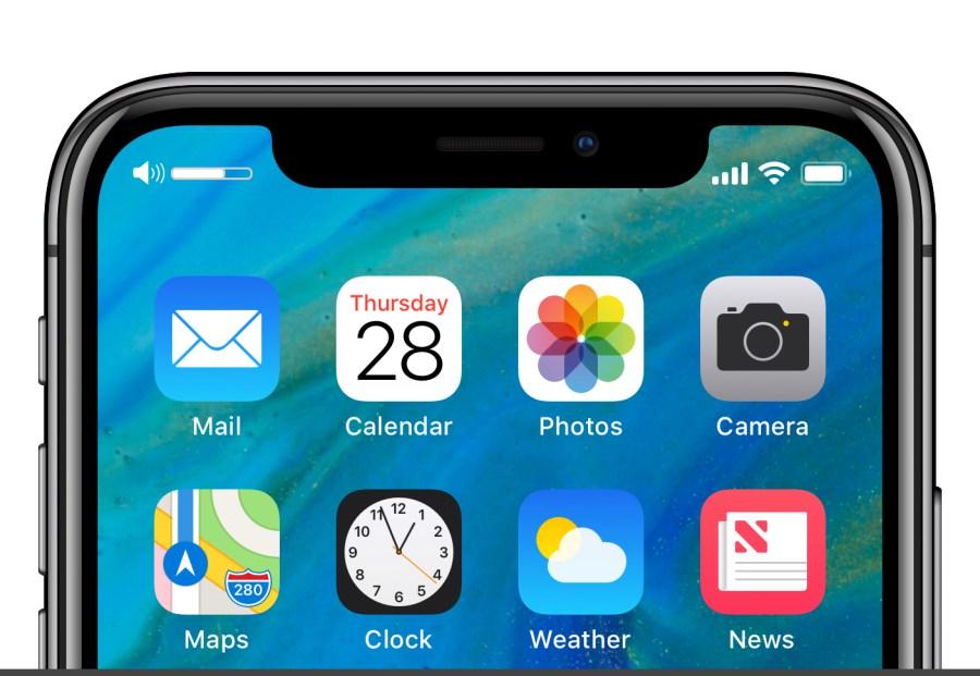 Concept iOS 12 iPhone X Barre De Volume Un concept iOS 12 met en avant un nouveau écran de verrouillage et plus encore