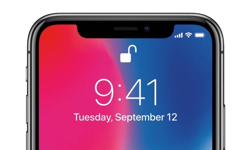 Encoche iPhone X Apple 1000x602 Voici comment pourrait évoluer lencoche de liPhone chez Apple