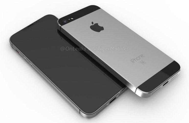 Fuite iPhone SE 2 iPhone SE 2 : pas de bouton Home, une encoche comme liPhone X et disponible bientôt ?