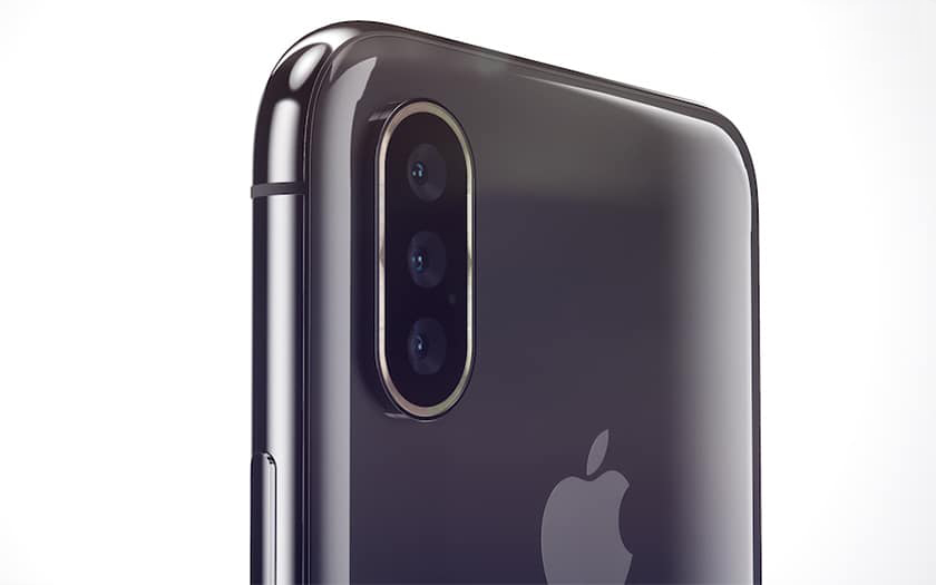 Triple Capteur Photo iPhone 2019 Un triple capteur photo sur liPhone de 2019 ?