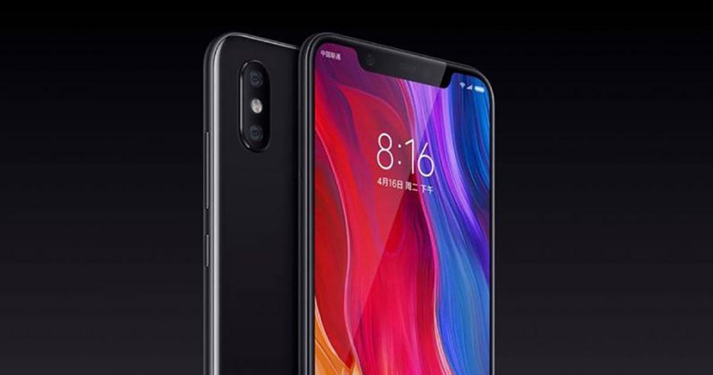 Xiaomi Mi 8 1000x527 Voici le Xiaomi Mi 8 : une copie parfaite de l'iPhone X