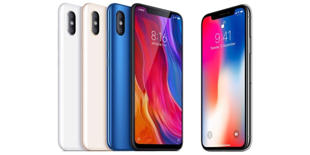 Xiaomi Mi 8 VS iPhone X 1000x500 Voici le Xiaomi Mi 8 : une copie parfaite de l'iPhone X