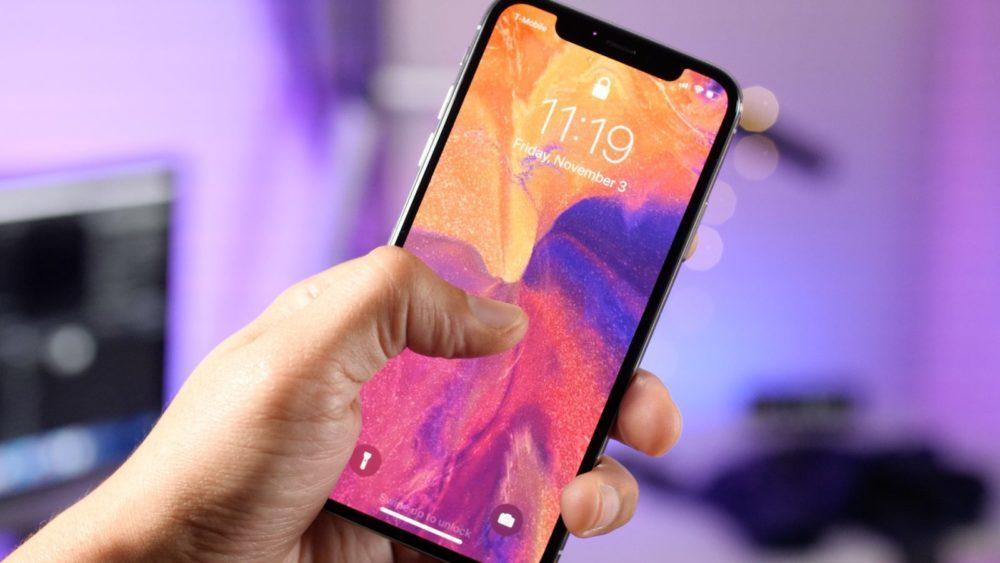 iPhone X Ecran OLED Encoche 1000x563 Un écran MLCD+ de LG sur liPhone de 6,1 pouces de 2018 ?