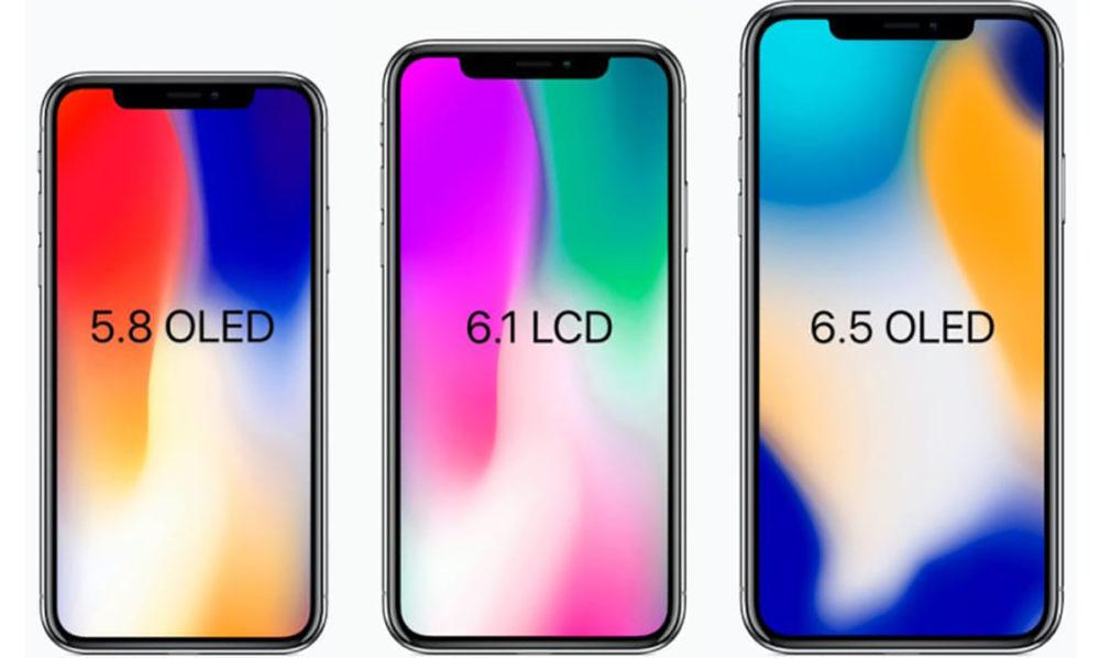 iphone 2018 iphone x modele 1000x598 iPhone LCD 2018 : une disponibilité pas avant novembre ?