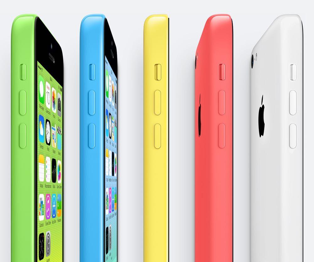iphone 5c colors 1000x836 De nouvelles couleurs à l'instar de liPhone 5c sur liPhone de 6,1 pouces ?