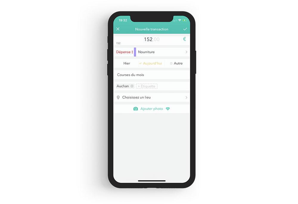 moneon iphone Comment mieux gérer son budget et ses dépenses avec lappli Moneon