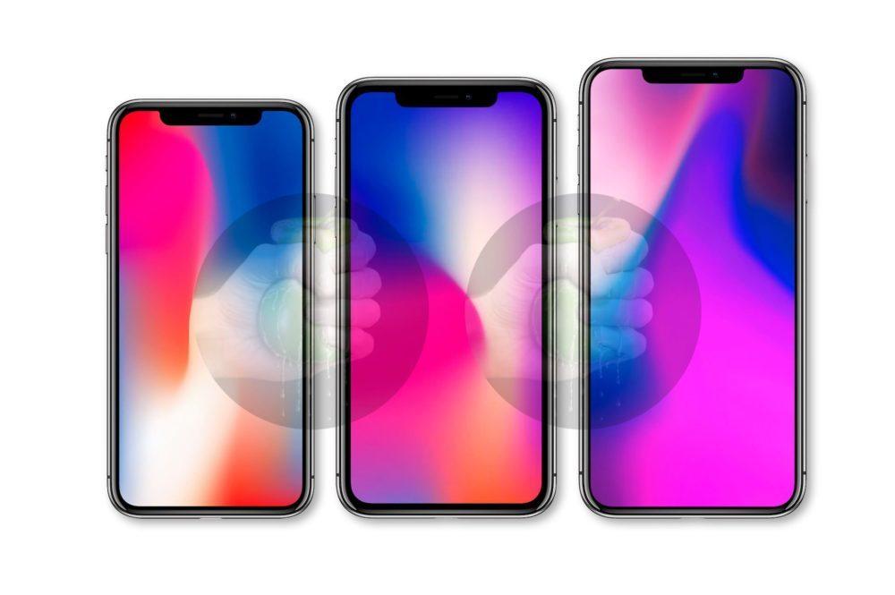 3 iPhone 2018 2 1000x665 iPhone Xs, iPhone Xs Max et iPhone LCD : les prix en euros sont connus ?