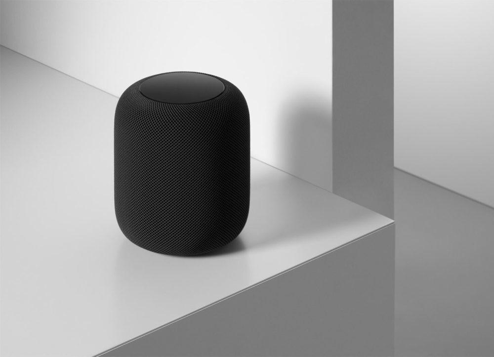 Apple HomePod Noir 1000x723 HomePod : les premières commandes en France seront livrées demain