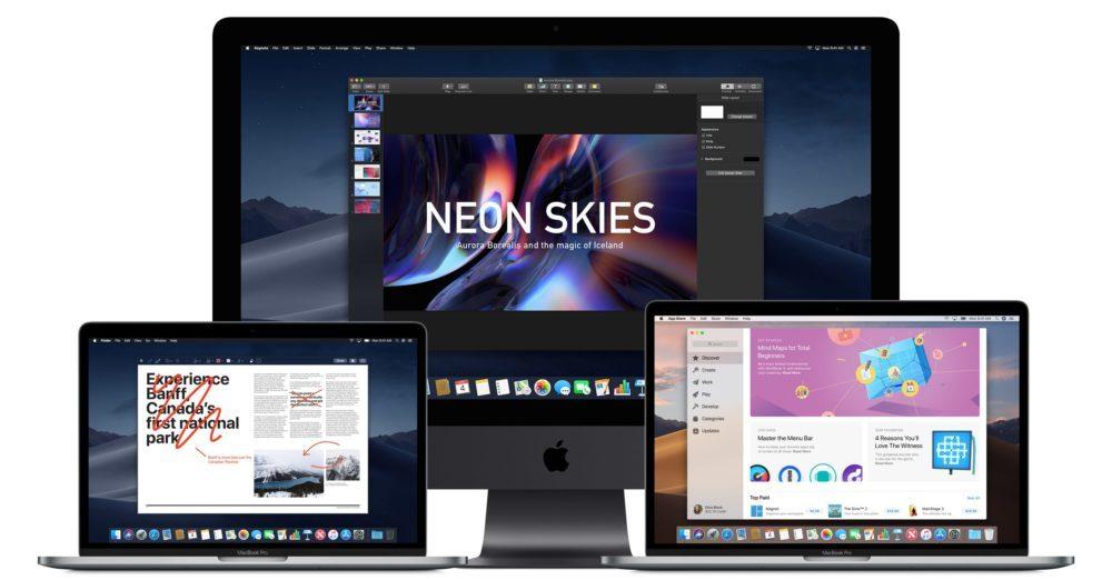 Apple macOS 10 14 Mojave 1000x522 Voici la liste des Mac compatibles macOS 10.14 Mojave