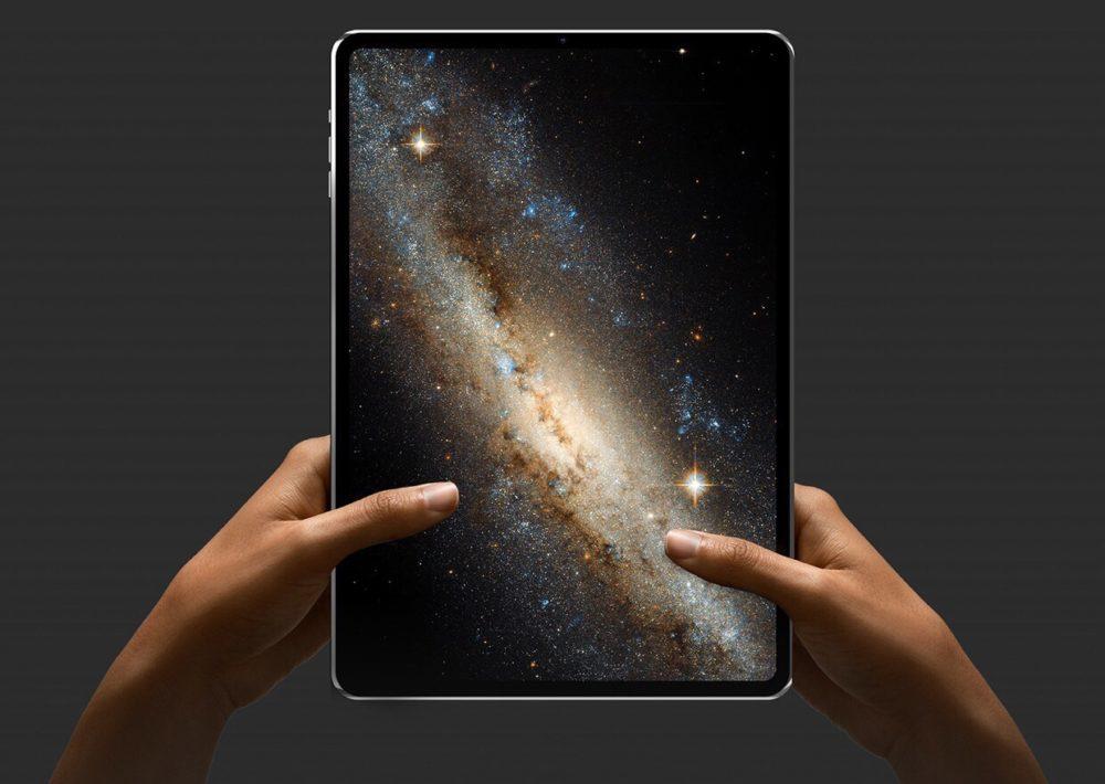 Concept iPad Pro Alvaro Pabesio 1000x710 LiPad Pro de 2018 avec Face ID embarquerait la puce A12X