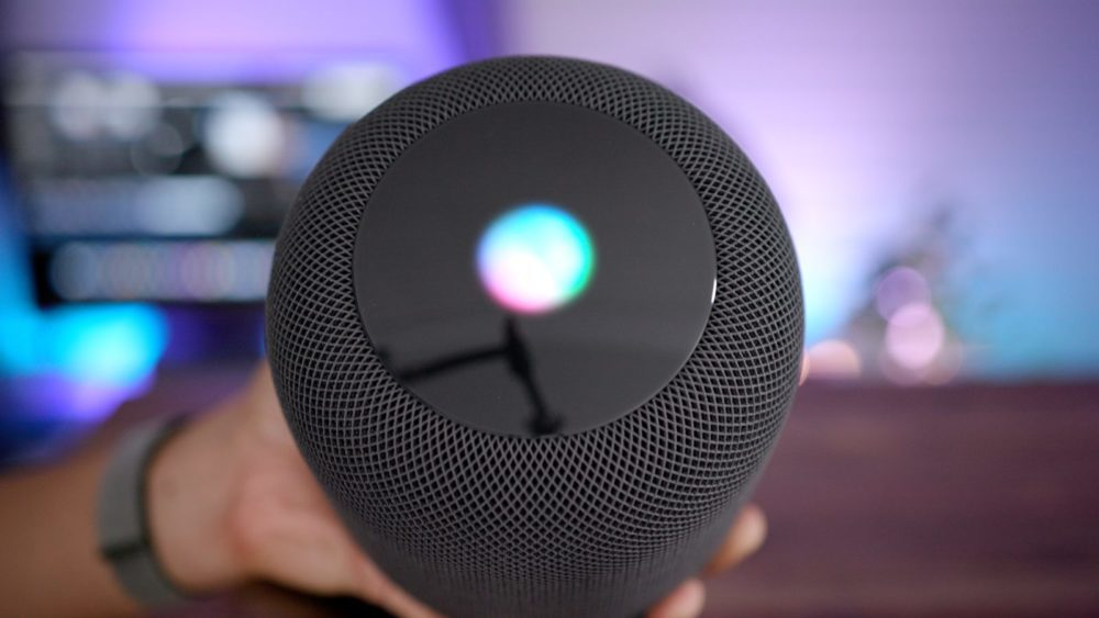 Siri HomePod 1000x563 Siri : l'assistant vocal d'Apple disponible sur les enceintes connectées de la concurrence ?