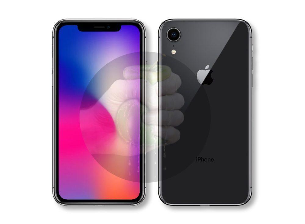 Suppose iPhone 9 2 1000x736 iPhone LCD de 6,1 pouces : expédié plus tard, pas de support pour lApple Pencil cette année