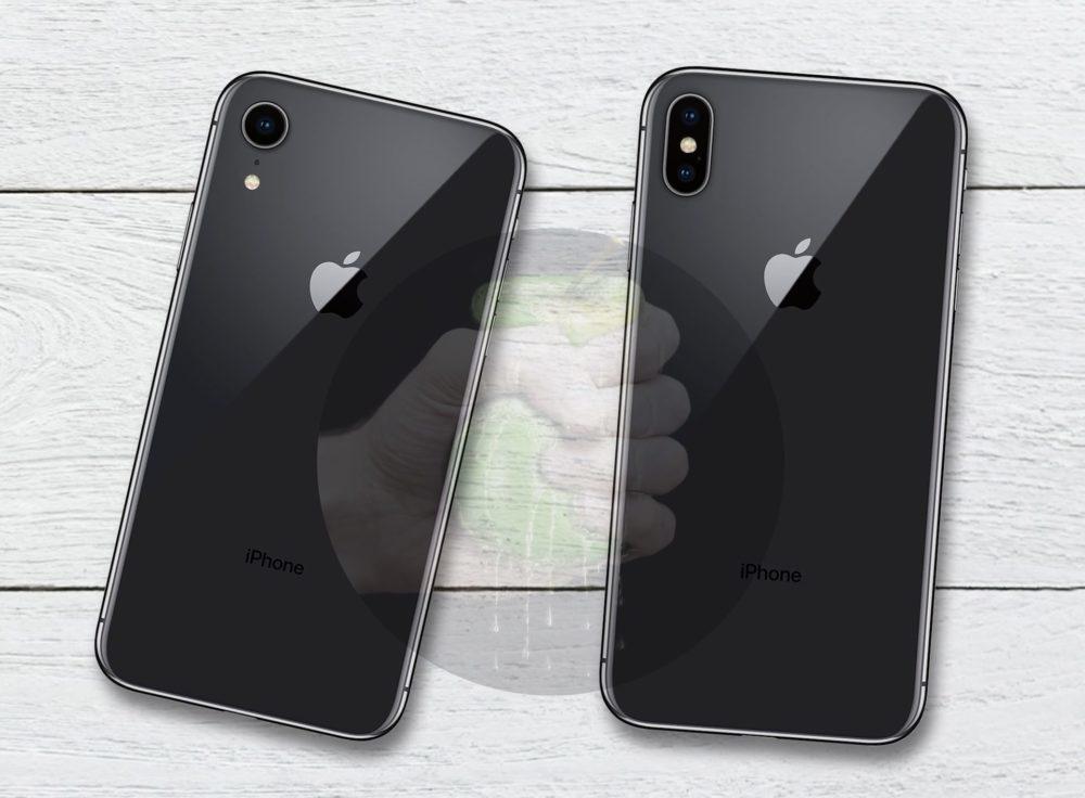 Suppose iPhone 9 iPhone X 1000x736 Voici à quoi pourrait ressembler l'iPhone LCD de 6,1 pouces (l'iPhone 9)